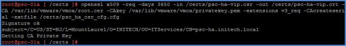 psc_vmca-generate-certificate