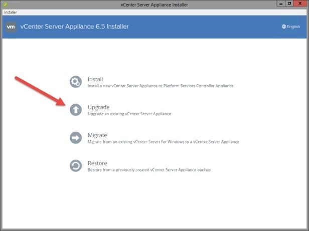 01-vcenter-upgrade-option
