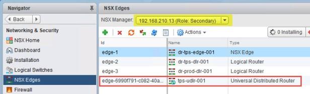 15a Create UDLR in SiteB