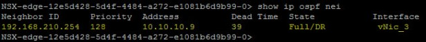 XX - OSPF adjacency ULDR B